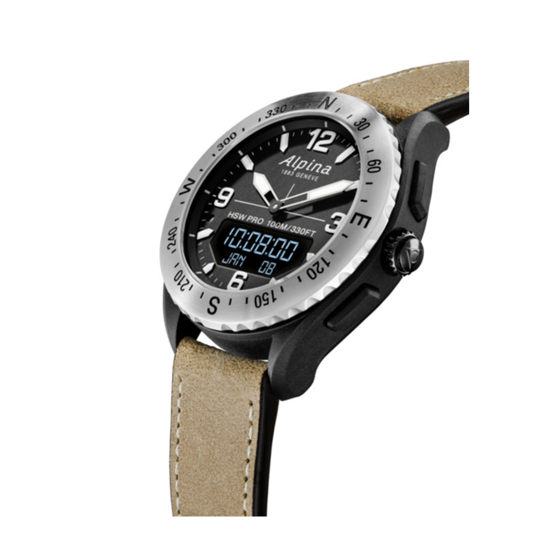ساعت مچی عقربهای مردانه آلپینا واچز مدل AL-283LBBW5SAQ6