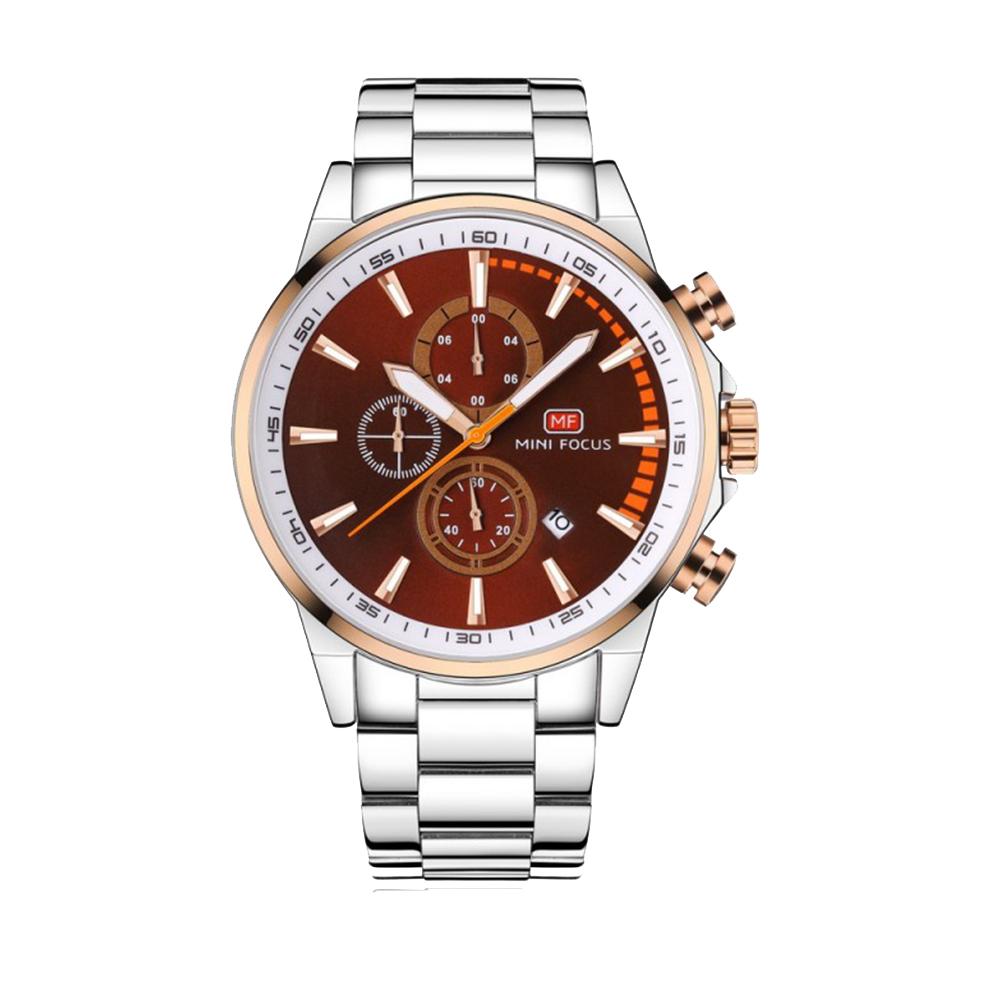 ساعت مچی عقربهای مردانه مینی فوکوس مدل mf0085.01