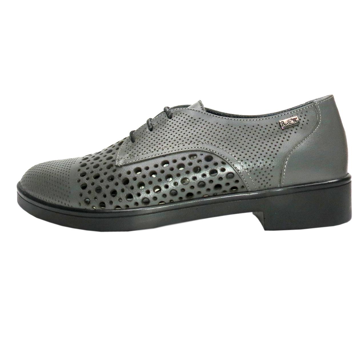 خرید                      کفش روزمره زنانه آر اند دبلیو مدل 994 رنگ طوسی