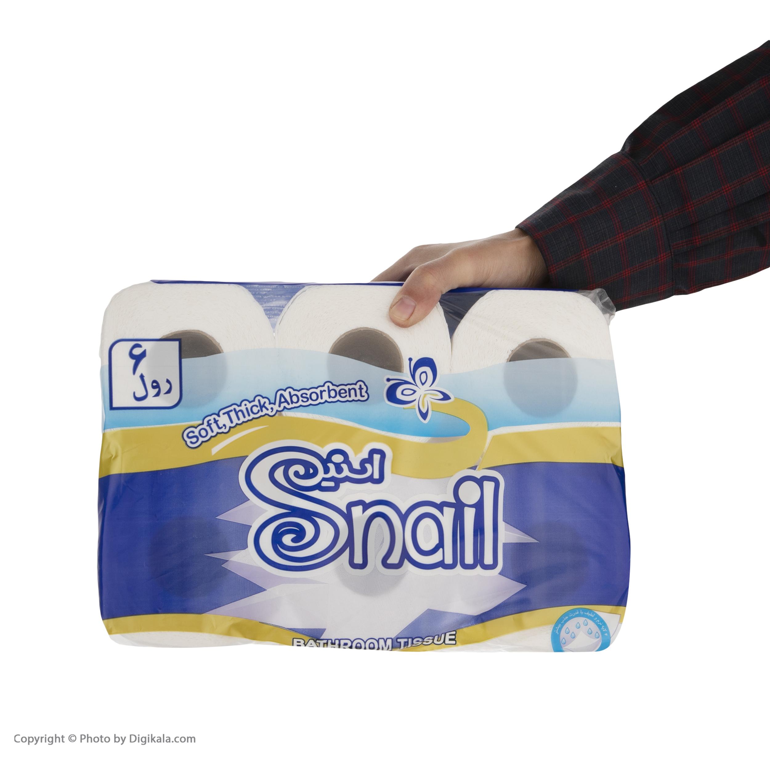 دستمال توالت اسنیل کد 01  بسته 6 عددی   main 1 3