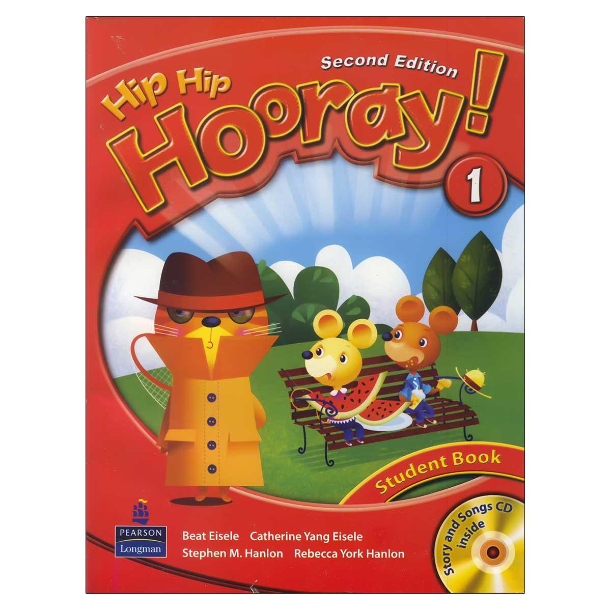 کتاب Hip Hip Hooray 1 اثر جمعی از نویسندگان انتشارات لانگمن