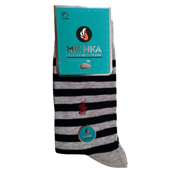 جوراب مردانه میچکا مدل MN340-6