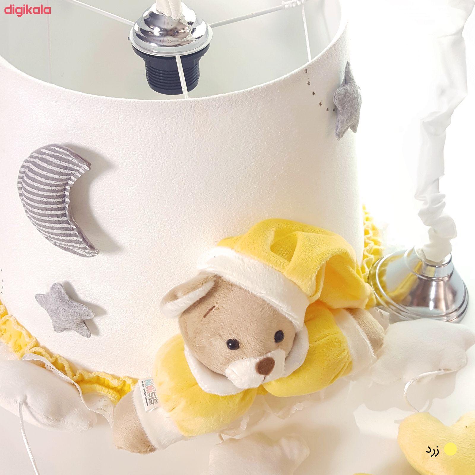 لوستر اتاق کودک طرح خرس نانان کد LMN212 main 1 13