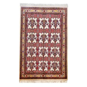 گلیم فرش دستباف سه متری طرح گلدانی مدل AA68