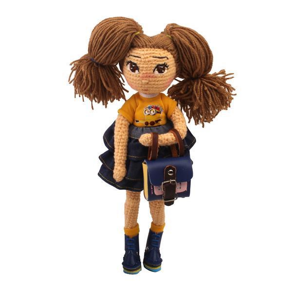 عروسک بافتنی پریا مدل Benita01