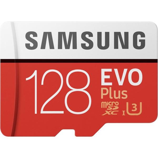 کارت حافظه microSDXC سامسونگ مدل Evo Plus کلاس 10 استاندارد UHS-I U3 سرعت 95MBps ظرفیت 128 گیگابایت