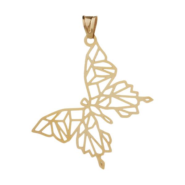 آویز گردنبند طلا 18 عیار زنانه مایا ماهک مدل MM1356