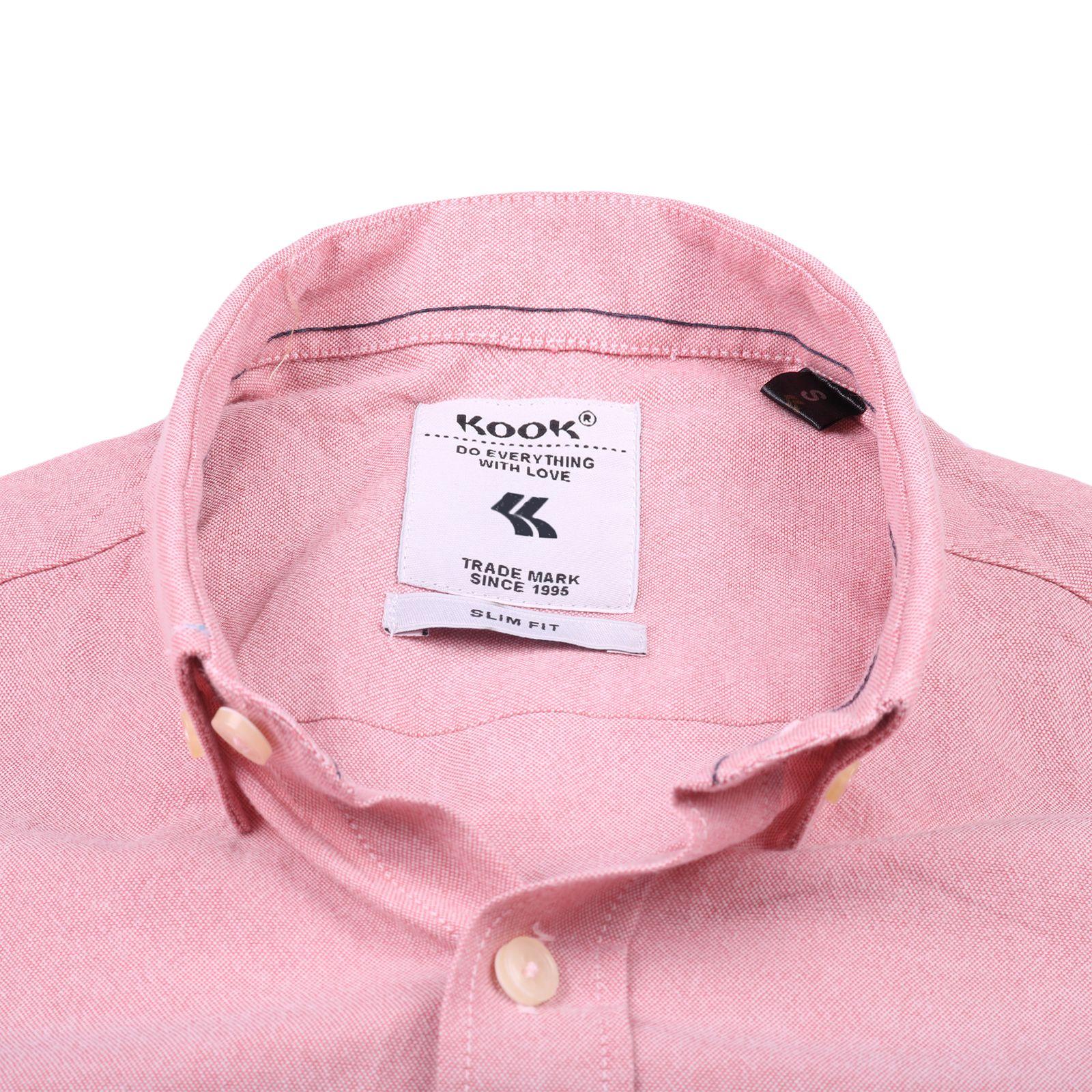 پیراهن مردانه کوک تریکو مدل 61728 -  - 5