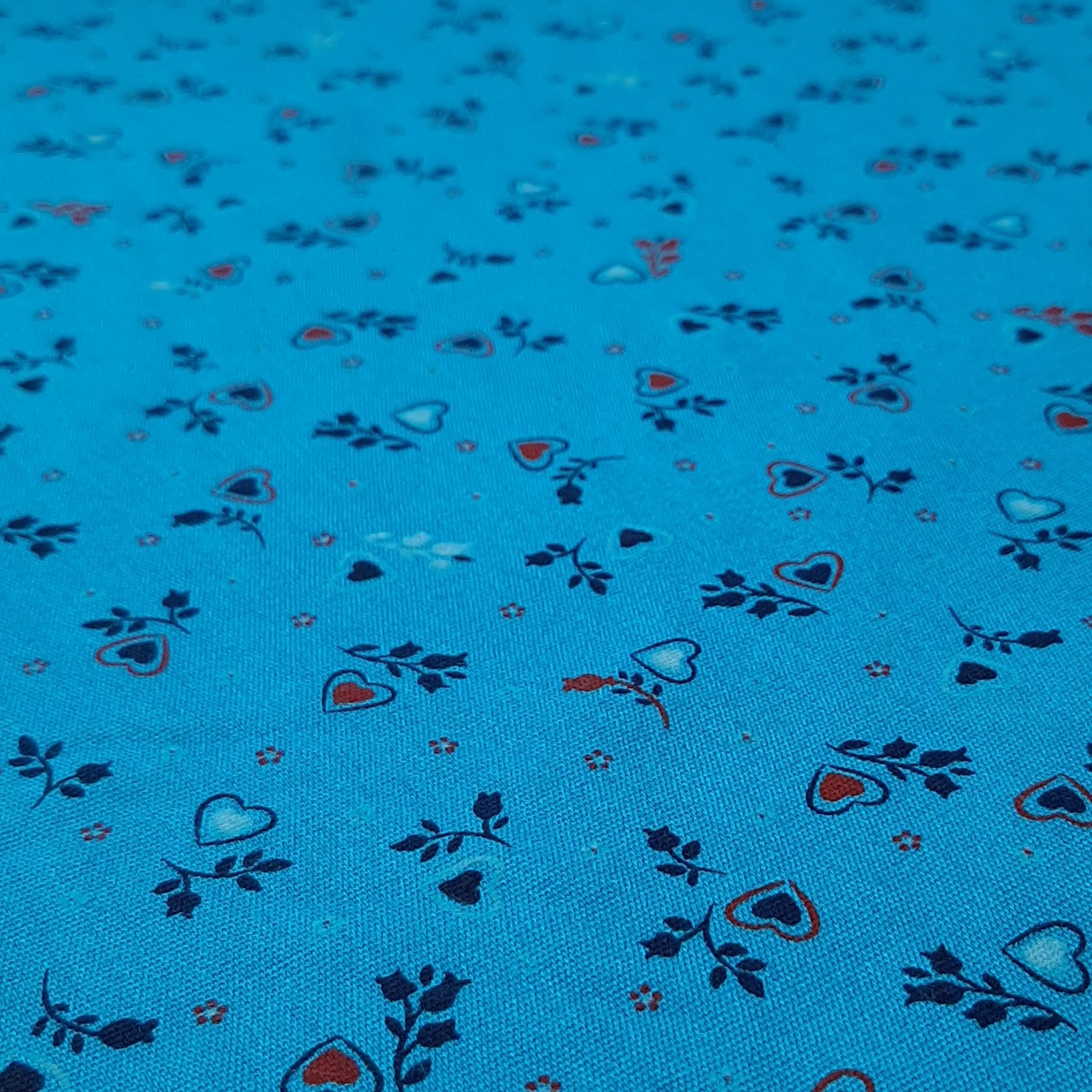 خرید                      پارچه لباس طرح ریز گل کد ۴۱۶