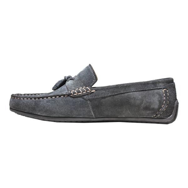 کفش روزمره مردانه چرم آرا مدل sh051 کد du