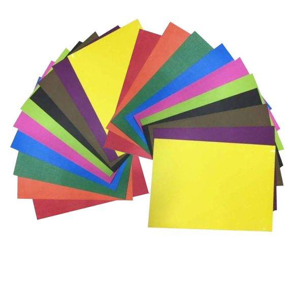 مقوا رنگی کد tenet 02 سایز 24x34 بسته 20 عددی
