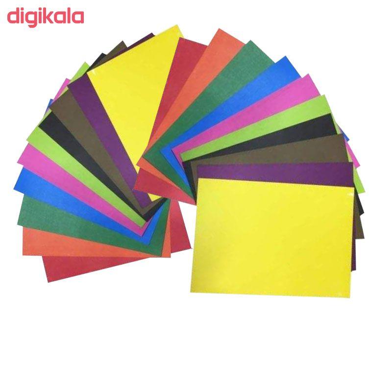 مقوا رنگی کد tenet 02 سایز 24x34 بسته 20 عددی main 1 1