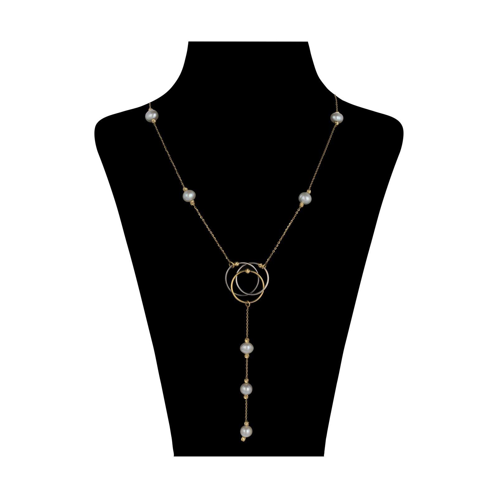 گردنبند طلا 18 عیار زنانه سیودو مدل 145454 -  - 2