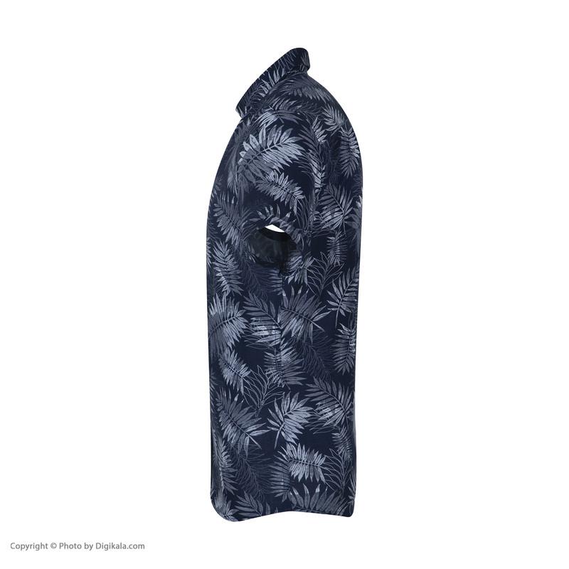 پیراهن آستین بلند مردانه ال سی وایکیکی مدل 0SD145Z8-CS6-INDIGO