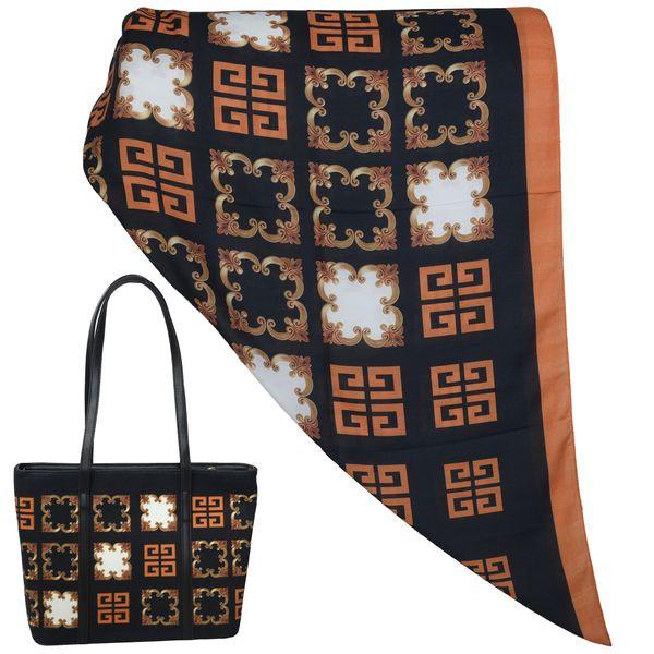 ست کیف و روسری زنانه کد T1-990709
