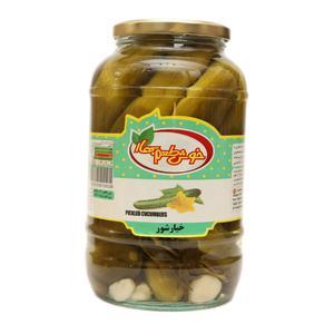 خیارشور نول خوش طعم بهار - 1.5 کیلوگرم