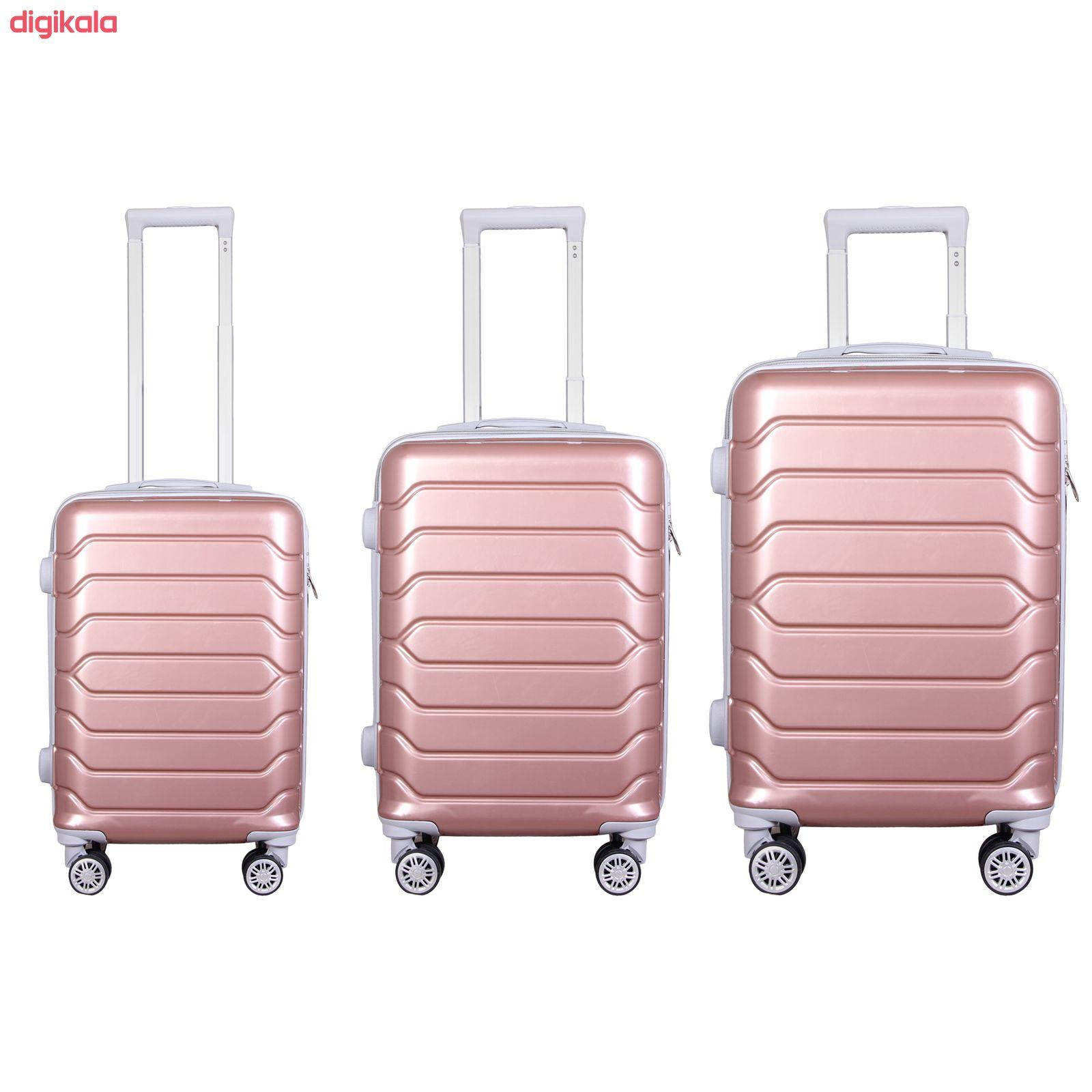 مجموعه سه عددی چمدان مدل 10021 main 1 5