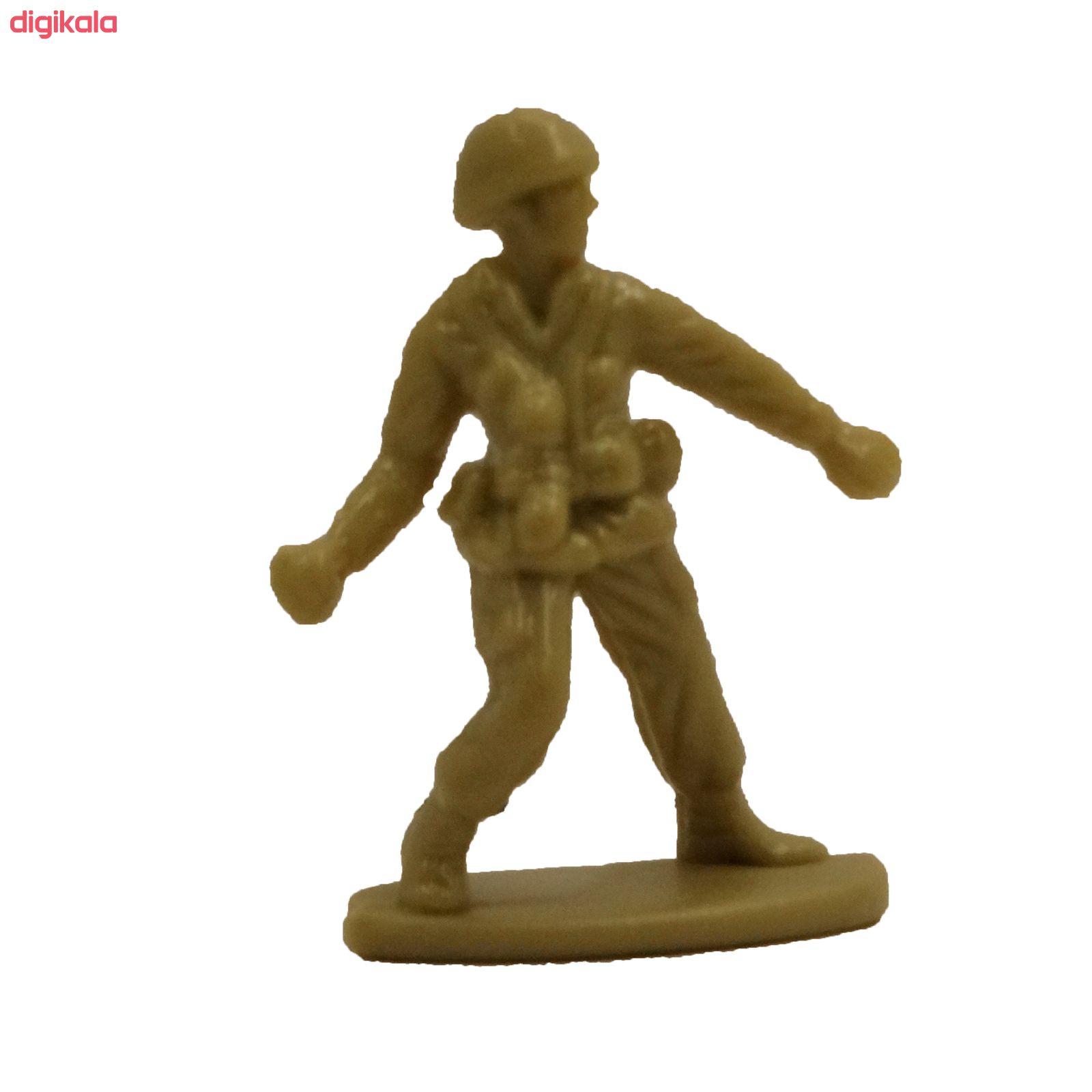 اسباب بازی جنگی مدل پادگان مجموعه 23 عددی main 1 16