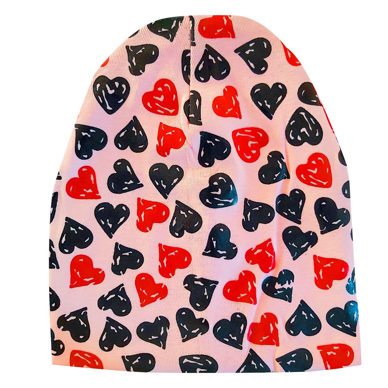 کلاه دخترانه مدل قلب کد LP04 -  - 2