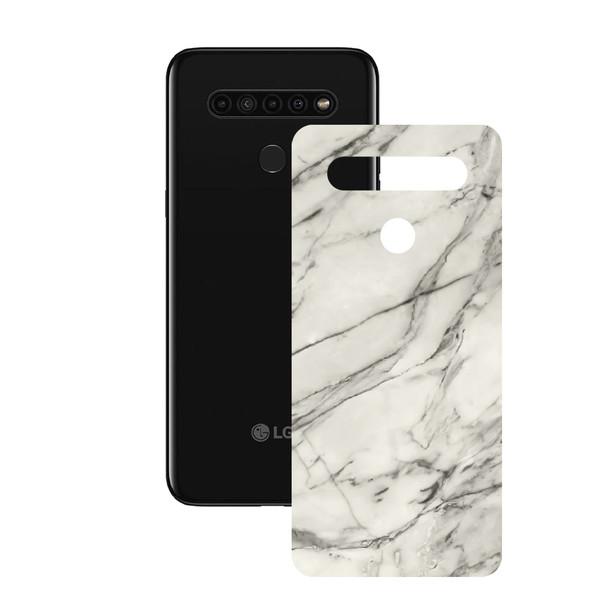 برچسب پوششی راک اسپیس مدلMarble-WH مناسب برای گوشی موبایل  ال جی K51s