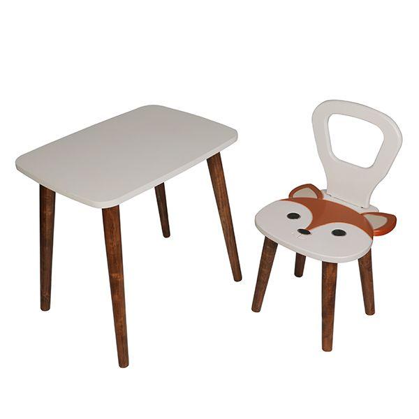 ست میز و صندلی کودک مدل روباه
