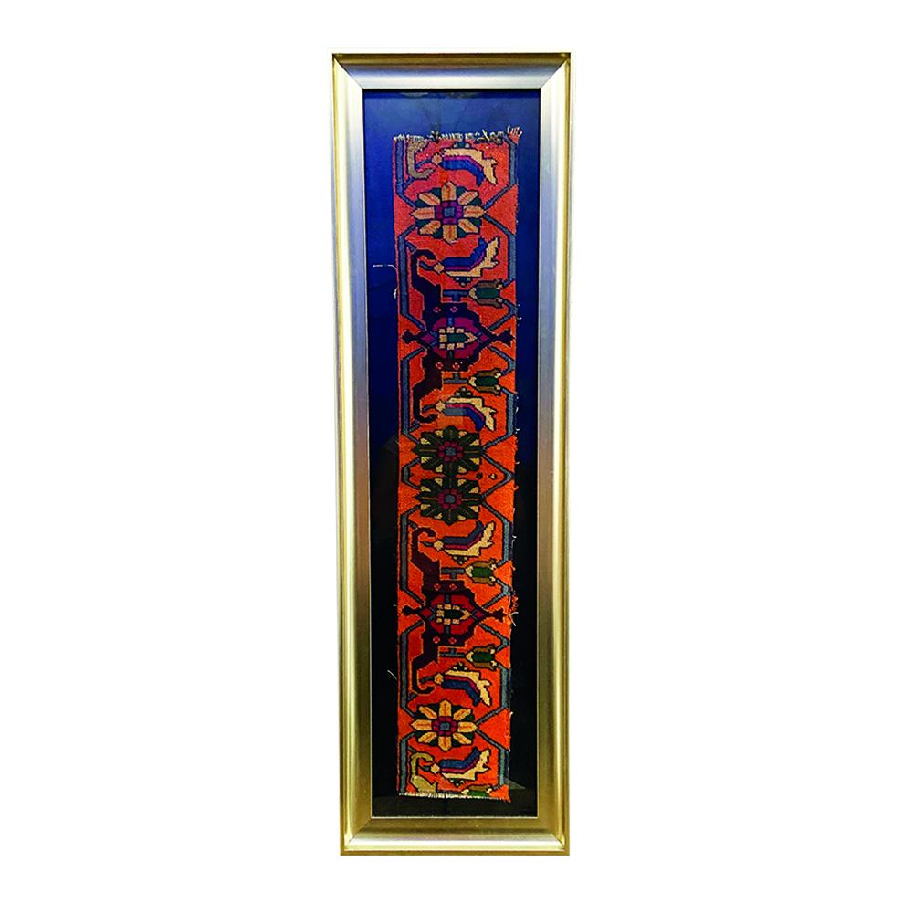 خرید                       تابلو فرش دستبافت مدل گل آرا کد 07