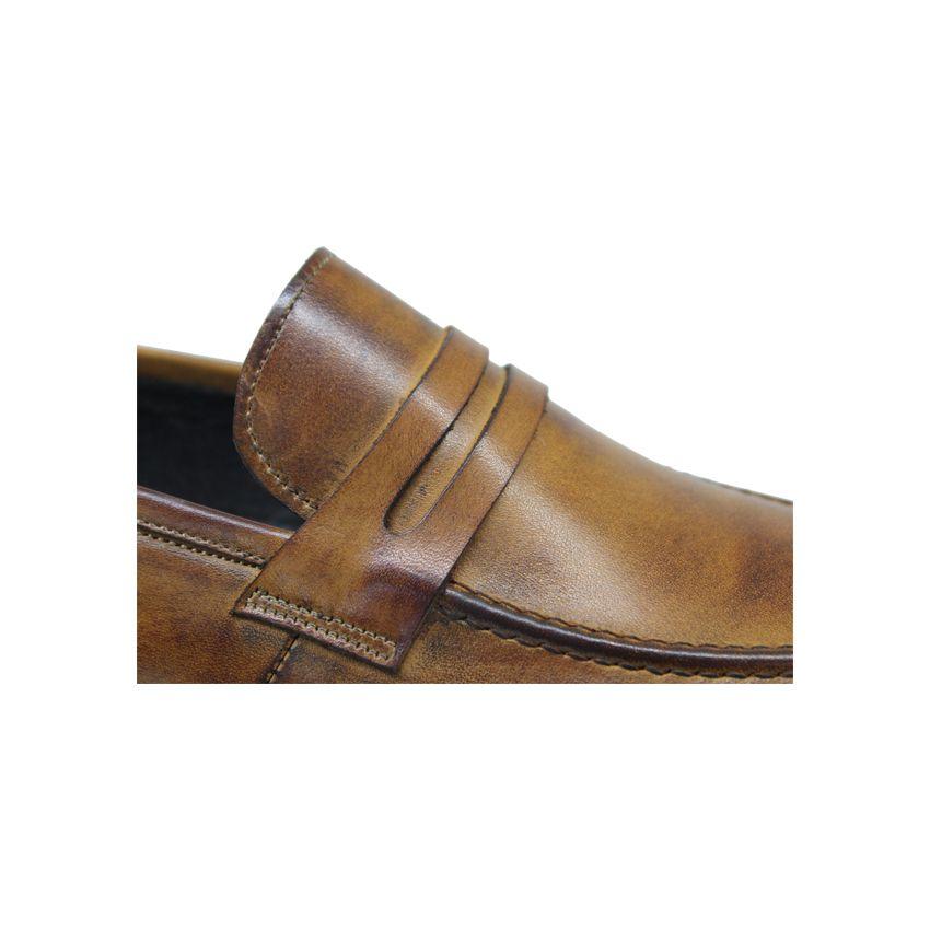 کفش روزمره مردانه چرم آرا مدل sh025  -  - 6