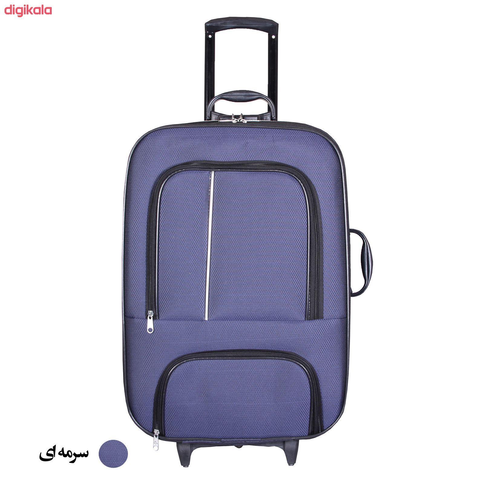 مجموعه دو عددی چمدان پرواز مدل M01000 main 1 2