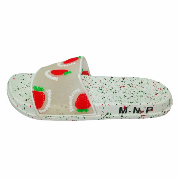 دمپایی دخترانه مدل میوه ای HD-strawberry
