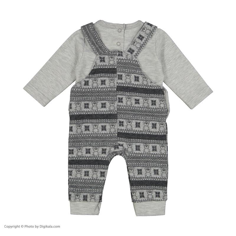 ست تی شرت و سرهمی نوزادی فیورلا کد 20508