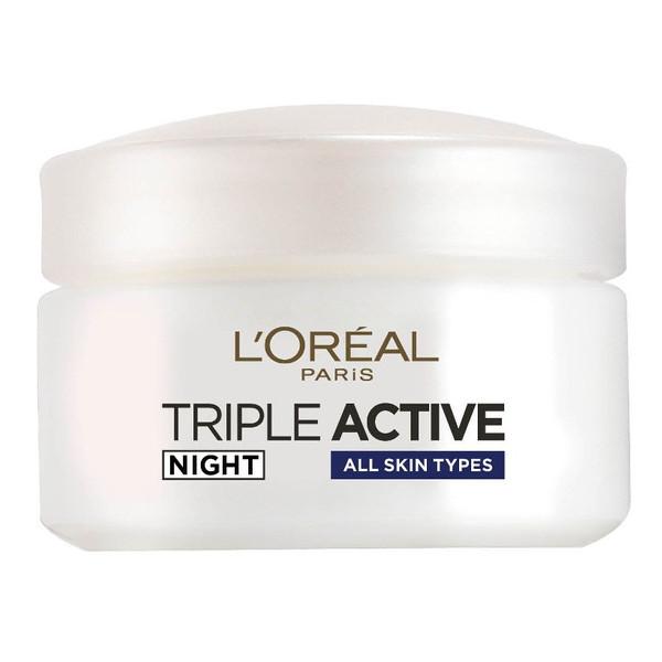 کرم آبرسان شب لورآل مدل Triple Active 24H حجم 50 میلی لیتر