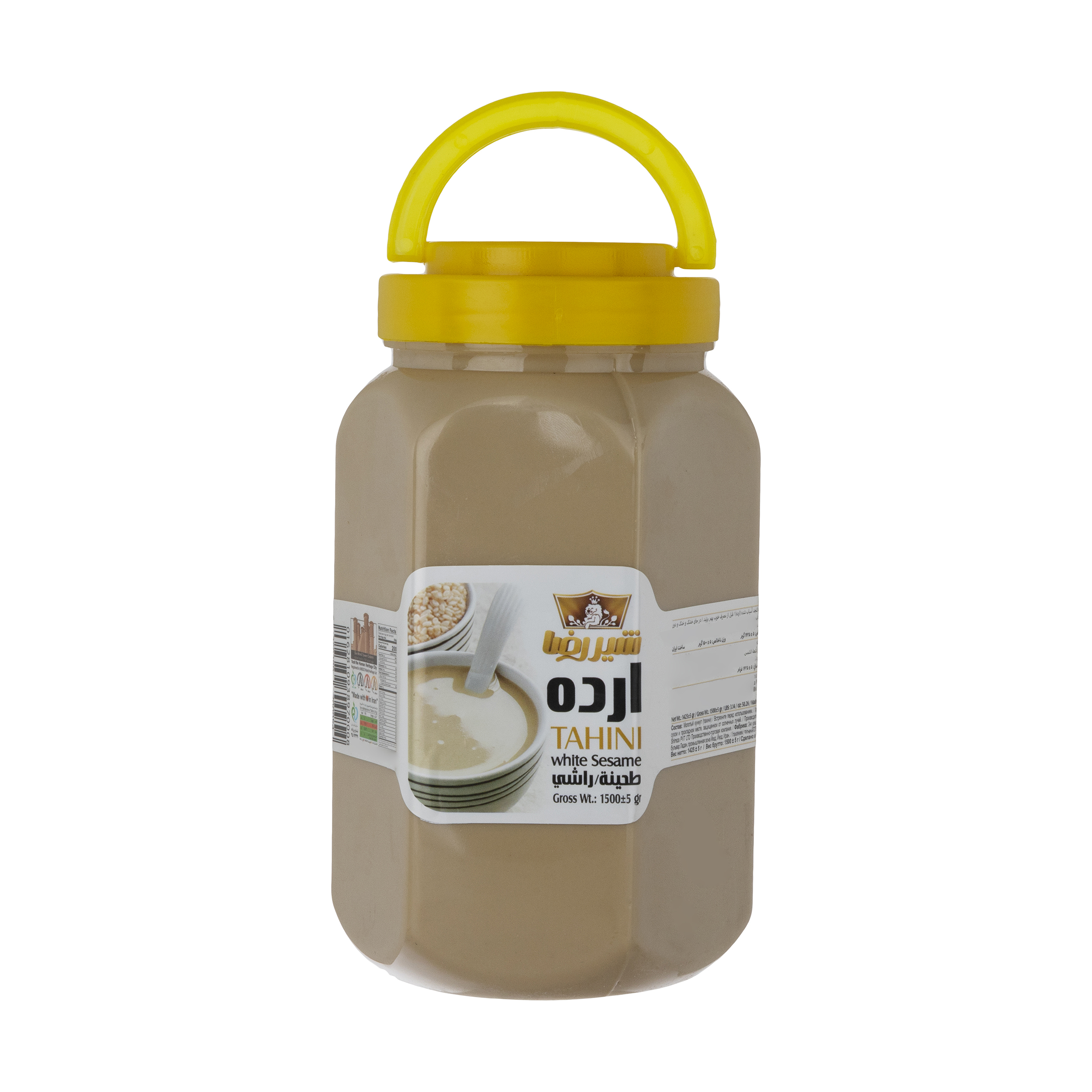 ارده ممتاز شیررضا- 1500 گرم