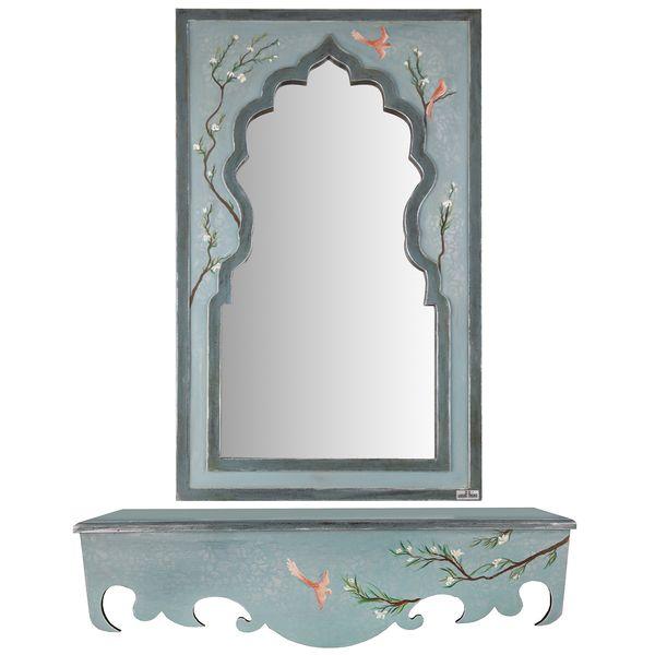 آینه و کنسول مثالین طرح شکوفه کد 314062