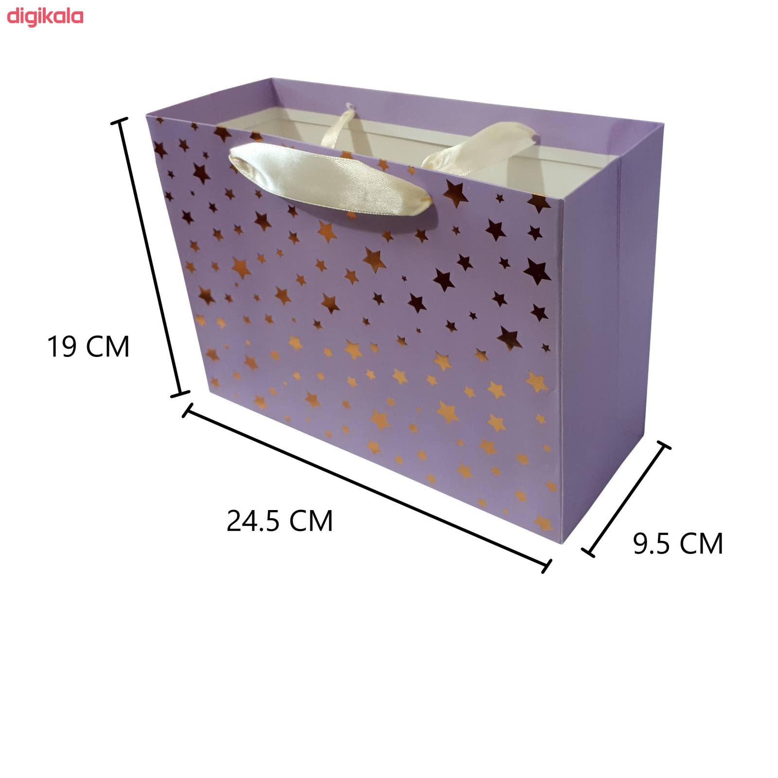 پاکت هدیه طرح ستاره کد G637 main 1 1