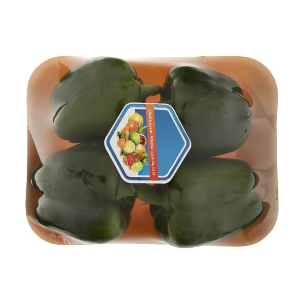 فلفل دلمه سبز میوه پلاس - 500 گرم