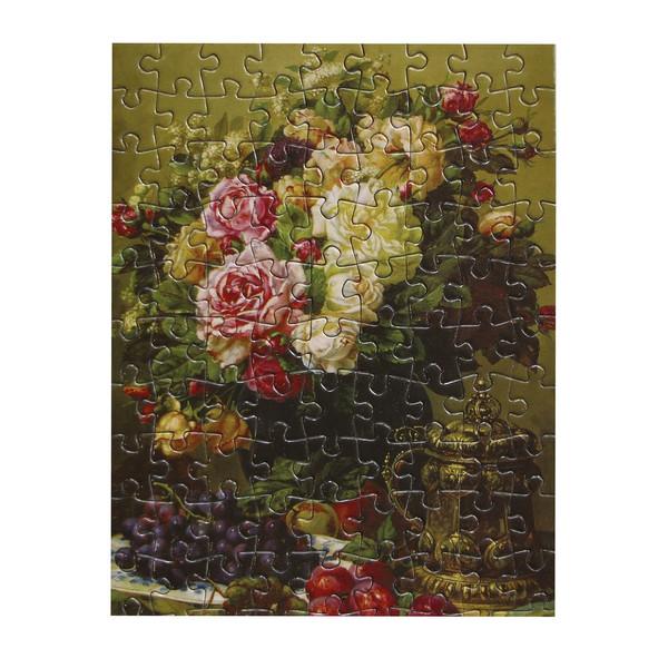 پازل 99 تکه گلد پازل طرح گل های رز کد 62397