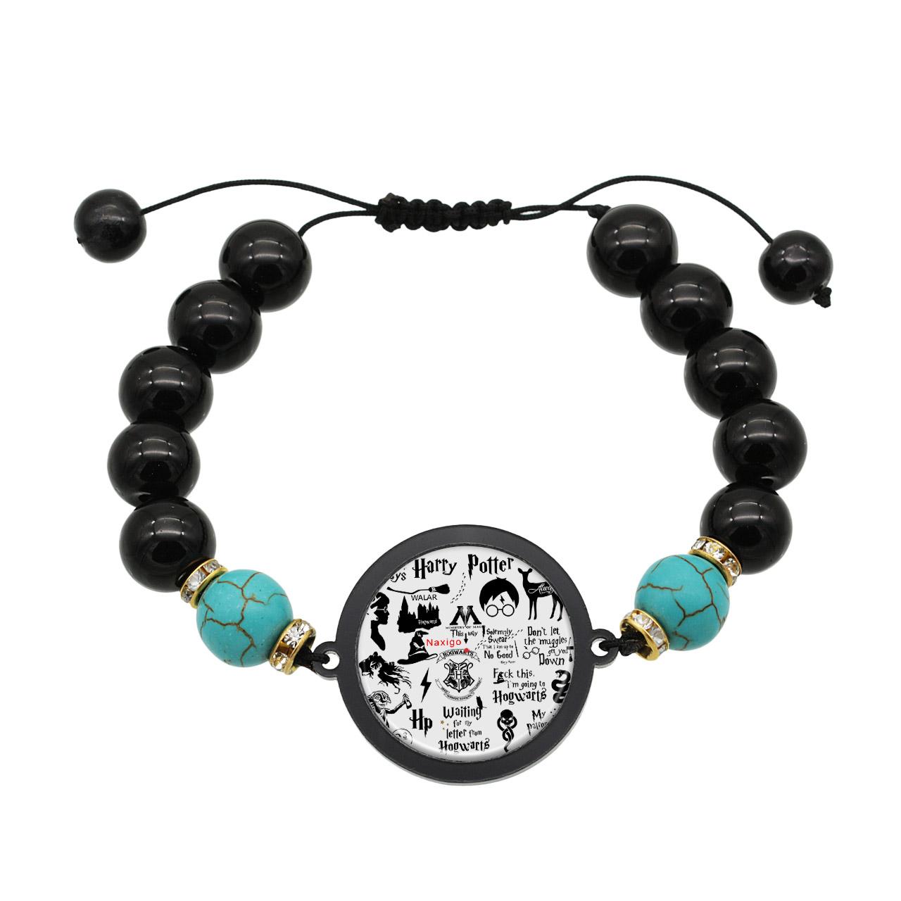 دستبند زنانه ناکسیگو طرح هری پاتر کد BR4014