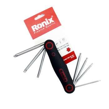 مجموعه 8 عددی آچار آلن ستاره ای رونیکس مدل RH-2021