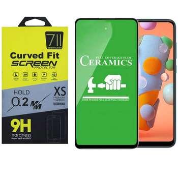 محافظ صفحه نمایش سون الون مدل 71 مناسب برای گوشی موبایل سامسونگ Galaxy A11