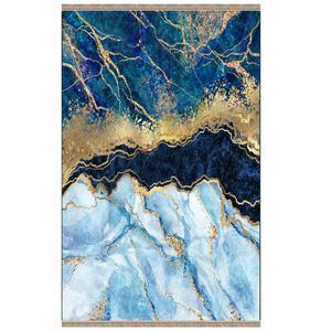 فرش پارچه ای مدل ترمز دار طرح سنگ دریا