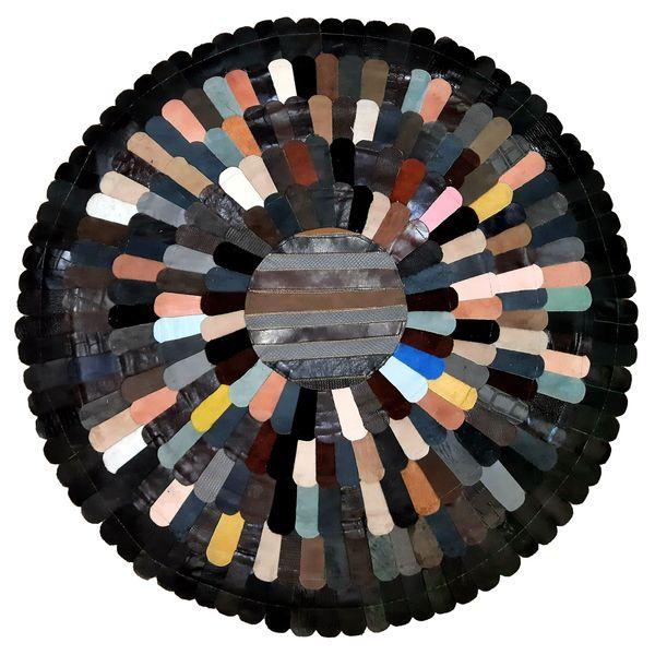 کلاژ فرش پوست و چرم کد 2015