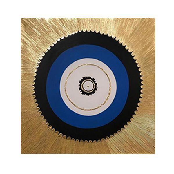 تابلو نقاشی ورق طلا مدل چشم نظر کد 0062