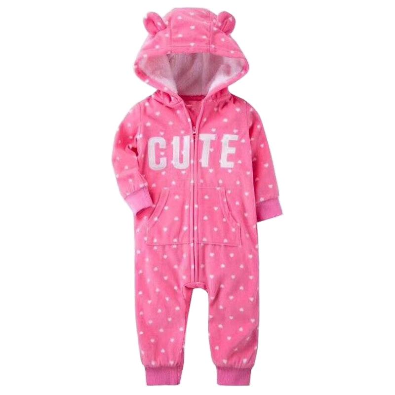 سرهمی نوزادی دخترانه کارترز طرح Cute کد M333