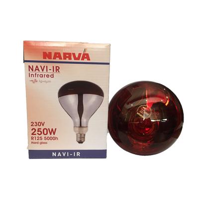 لامپ مادون قرمز 250 وات ناروا مدل NAVI پایه E27