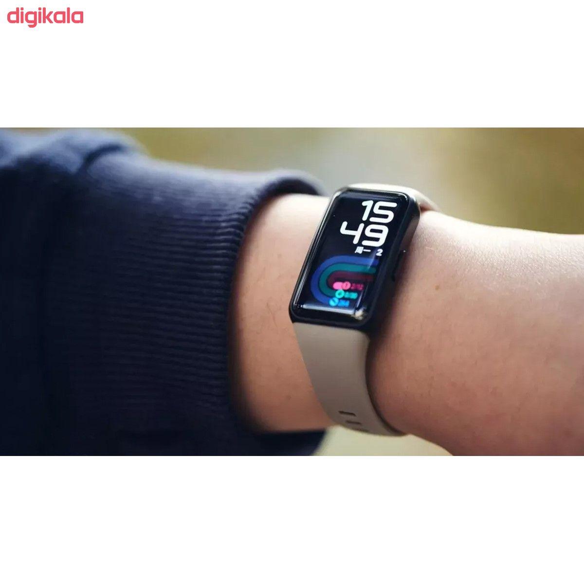 مچ بند هوشمند آنر مدل Band 6 NFC main 1 11