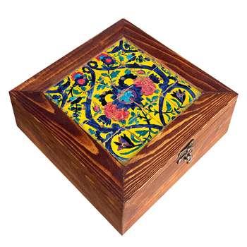 جعبه هدیه چوبی مدل   CG42