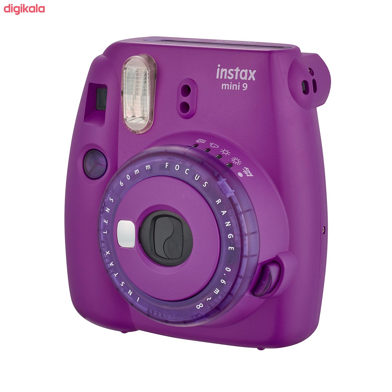 دوربین عکاسی چاپ سریع فوجی فیلم مدل Instax Mini 9 Clear main 1 14