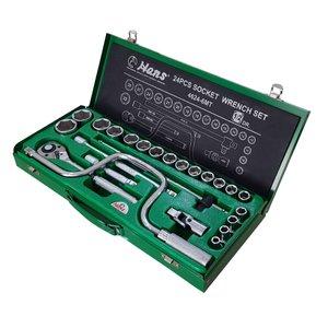 مجموعه 24 عددی آچار بکس هنس مدل 4624-6MT