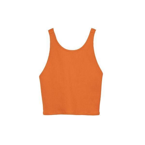 تاپ زنانه کوی مدل 228 رنگ نارنجی