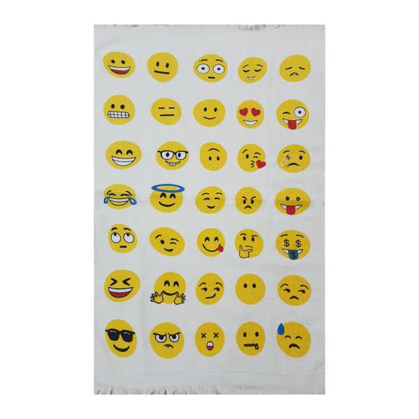 حوله آشپزخانه آکیپک مدل emoji-v2 ابعاد 60×40 سانتی متر